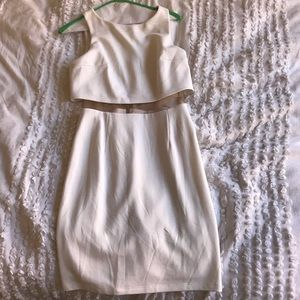 White Pencil Dress from Bloomingdales